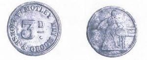 Horse and Groom Holbeach Token Coins